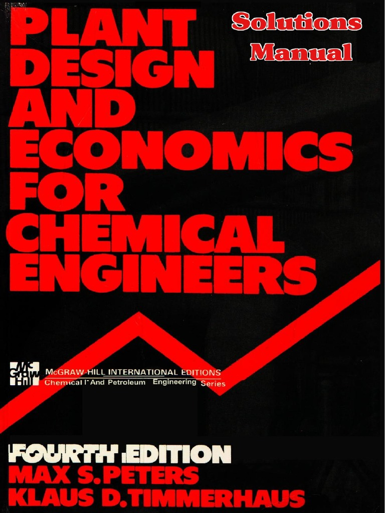 Solution manual plant design and economics for chemical engineers fandeluxe Image collections