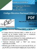 NFPA 70 NEC Presentacion