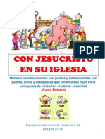 Catequesis Familiar - Con Jesucristto Iglesia