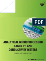 Analytical Microprocessor Based pH and Conductivity Meters