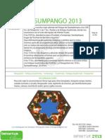 Itinerario Sumpango 2013 Infiniturguate