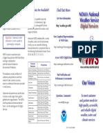 2006 Nws Digital Services Brochure 2p