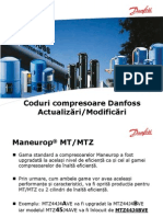 Modificari Coduri Compresoare Danfoss