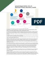 Human Development Report 2010