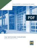 Hormann Uşi secţionale industriale