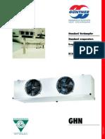 Guntner Ghn evaporators