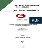 3965399 El Despido y Sus Consecuencias Legales en El Peru 2