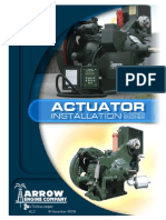 New Clutch Actuator Assembly and Adjustment Instructions - C Series