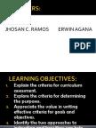 Criteria for CurriculumAssessment- -REPORT