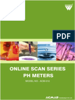 Online Scan Series pH Meters