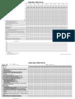 5S Check List Form 1