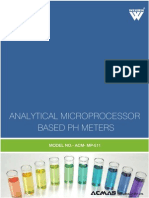 Analytical Microprocessor Based pH Meters