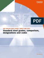Ruukki Hot Rolled Steels Standard Steel Grades Comparison Designation and Codes1