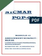 NICMAR NCP22