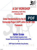 Global Standardisation of 3GPP
