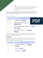Los adverbios en árabe