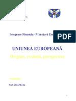 Uniunea Europeana - Origine, Evolutii, Perspective