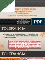 Tolerancia y Control de La