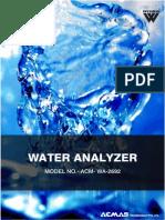 Water Analyzer
