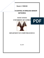 Antoniou Masters Sensor Congestion 2007