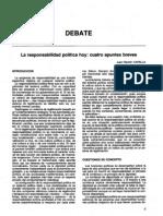 La responsablidad politica hoy - Capella
