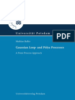 Gaussian Loop- and Pólya Processes- A Point Process Approach