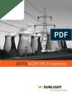 VRLA Batteries (Sunlight)