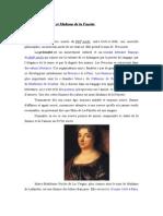La préciosité et Madame de la Fayette