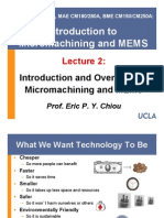 02 Introduction to and Overview of Micromachining and Mems (1)