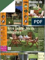 HORNBACH FR Sh2006 Meubles de Jardin