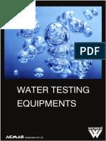 Water Testing Meters Category