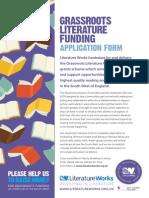 LW Grassroots Application Form