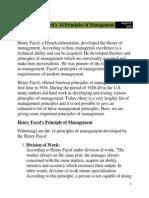 Fayol s 14 Principles