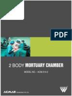 2 Body Mortuary Chamber