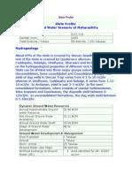 State Profile of Grpund Water