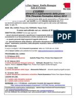 Approfondimento TFA Ferrara