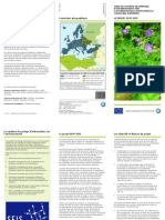 Vers un système de partage d'informations sur l'environnement (SEIS) dans le voisinage européen. Brochure No 3/2012. LE PROJET IEVP-SEIS. EEA (European Environment Agency) ; Publié