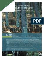 Sistemul european de informații privind biodiversitatea (BISE). EEA (European Environment Agency), 2010-09-20