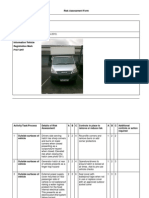 risk assessment sha vehicle