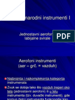 Aerofoni Narodni Instrumenti - KompletAerofoni narodni instrumenti - komplet
