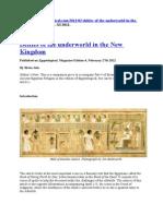 Bozanstva u Posmrtnom Kultu u Starom Egiptu