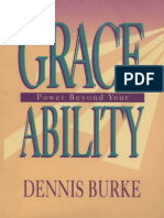 Grace - Power Beyond Your Ability - Dennis Burke