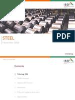 Steel Outlook - IBEF - Feb 2011