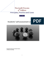 Solutions of The Audit Process. Principles, Practice and Cases