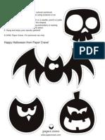 Halloweengarland Cutouts