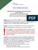 09.10.2013 - Procedura Inscriere Licenta-master 2013-2014_OK