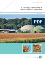 EU bioenergy potential from a resource efficiency perspective. EEA Report No 6/2013. EEA (European Environment Agency). Published