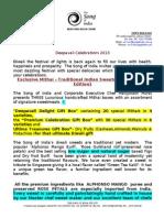 TSOI Press Release- DIWALI 2013