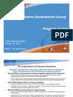 Cirasino PSDG Program Updates