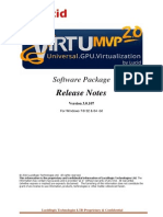 VirtuMVP2 Release Notes3!0!107 May 28 2013 2